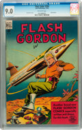 Golden Age (1938-1955):Science Fiction, Four Color #204 Flash Gordon (Dell, 1948) CGC VF/NM 9.0 Off-whitepages....