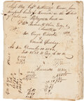 Autographs:Military Figures, Ship's Log Book for Ship Boy....