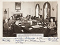 Autographs:U.S. Presidents, Harry S. Truman and Cabinet Signed Photo. ...