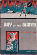 Books:Science Fiction & Fantasy, Lester del Rey. Day of the Giants. New York: Avalon Books,[1959]. First edition. Inscribed and signed by Del ...