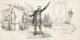 THOMAS NAST (American, 1840-1902) Liberty or Death, editorial illustration, circa 1880 Ink on board 9 x 18 in. Signe...