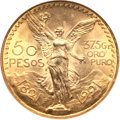 Mexico, Mexico: Republic gold 50 Pesos 1921,...