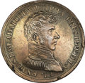 Mexico, Mexico: President Guadalupe Victoria bronze Medal ND (1824),...