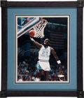 """Basketball Collectibles:Photos, Michael Jordan Signed """"Upper Deck Authenticated"""" Photograph...."""