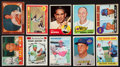 Baseball Cards:Lots, 1950's-1970's Topps Baseball Superstars and HoFers Collection (20)With Ryan Rookie. ...