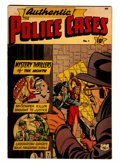 Golden Age (1938-1955):Crime, Authentic Police Cases #1 (St. John, 1948) Condition: FN....