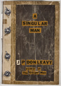 Books:First Editions, J. P. Donleavy. A Singular Man. Boston: Little, Brown,[1963]. First edition, first printing. Octavo. Publisher's bi...