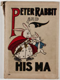 Books:Children's Books, Louise A. Field. Peter Rabbit and His Ma. Chicago: Saalfield, [1917]. Octavo. Publisher's binding with minor rubbing...