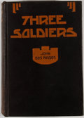 Books:First Editions, John Dos Passos. Three Soldiers. New York: George H. Doran,[1921]. First edition. Octavo. Publisher's binding with ...