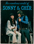 Books:First Editions, The Wondrous World of Sonny & Cher. [New York: ScobeEnterprises, n. d., ca. 1966]. First edition. Quarto. Publisher...