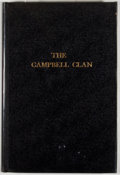 Books:First Editions, [Christina C. Dugger and Lewis C. Dunlap]. The CampbellClan. [n. p.: Dugger and Dunlap, 1938]. First edition. Octav...
