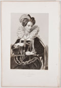 Antiques:Posters & Prints, Lot of 6 Antique Portraits of Various Queens of England....