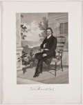 Antiques:Posters & Prints, Lot of 10 National Gallery Portraits of Eminent Americans....