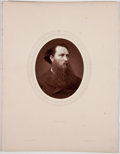 Antiques:Posters & Prints, Lot of 7 Antique Photographic Portraits of Eminent 19th CenturyEnglishmen....