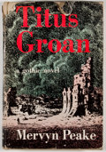 Books:First Editions, Mervyn Peake. Titus Groan. New York: Reynal & Hitchcock,[1946]. First American edition. Octavo. Publisher's binding...