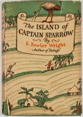 Books:First Editions, S. Fowler Wright. The Island of Captain Sparrow. New York:Cosmopolitan, 1928. First edition, first printing. Octavo...