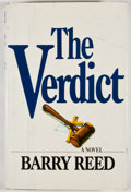 Books:Signed Editions, Barry Reed. INSCRIBED. The Verdict. New York: Simon and Schuster, [1980]. First edition, first printing. Inscr...