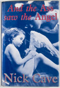 Books:Signed Editions, Nick Cave. INSCRIBED. And the Ass Saw the Angel. [London]: Black Spring Press, [1989]. Later impression. Inscribed...