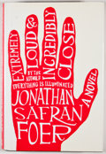 Books:Signed Editions, Jonathan Safran Foer. INSCRIBED. Extremely Loud & Incredibly Close. Boston: Houghton Mifflin, 2005. First edition, f...