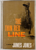 Books:First Editions, James Jones. The Thin Red Line. New York: Charles Scribner'sSons, [1962]. First edition with code A-6.62[H] on copy...