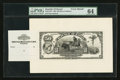 Large Size:Demand Notes, Republic of Hawaii $50 Gold Certificate of Deposit 1895 (1899)Series B Pick 9fp Face Proof. ...