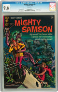 Silver Age (1956-1969):Adventure, Mighty Samson #5 (Gold Key, 1966) CGC NM+ 9.6 White pages....