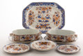Ceramics & Porcelain, British:Modern  (1900 1949)  , A FORTY-ONE PIECE SPODE IRONSTONE PARTIAL DINNER SERVICE . Circa1900. Marks: SPODE Stone China. 17 inches long (43.2 cm...(Total: 41 Items)