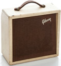 Musical Instruments:Amplifiers, PA, & Effects, 1960's Gibson Skylark White Guitar Amplifier #24516...