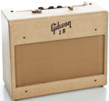 Musical Instruments:Amplifiers, PA, & Effects, 1950's Gibson GA-15 Tan Guitar Amplifier #24325...