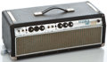 Musical Instruments:Amplifiers, PA, & Effects, 1969 Fender Bassman Black Amplifier Head #A53949...