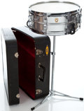 Musical Instruments:Drums & Percussion, 1966 Ludwig Snare Drum Silver #333932...