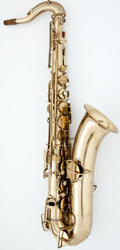 Musical Instruments:Horns & Wind Instruments, 1920's Buescher Low Pitch Lacquer Tenor Saxophone #136084...