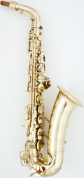 Musical Instruments:Horns & Wind Instruments, 1941 Conn Naked Lady Lacquer Alto Saxophone #335951...