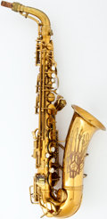 Musical Instruments:Horns & Wind Instruments, 1939 Conn Naked Lady Lacquer Alto Saxophone #323103...