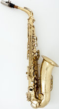 Musical Instruments:Horns & Wind Instruments, Circa 1963 The Martin Lacquer Alto Saxophone #214590...