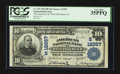 National Bank Notes:Florida, West Palm Beach, FL - $10 1902 Plain Back Fr. 634 The American NB Ch. # (S)12057. ...