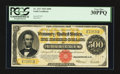 Large Size:Gold Certificates, Fr. 1217 $500 1922 Gold Certificate PCGS Very Fine 30PPQ.. ...