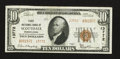 National Bank Notes:Pennsylvania, Scottdale, PA - $10 1929 Ty. 2 First NB Ch. # 13772. ...