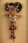 American Indian Art:Kachina Dolls, Chancay Doll with Loom Stick Legs...