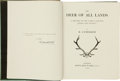 Books:Signed Editions, R. Lydekker. The Deer of All Lands. A History of theFamily Cervidae Living and Extinct. London: Rowland Ward, 1...