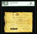Colonial Notes:Virginia, Virginia July 17, 1775 20s PCGS Apparent Very Fine 20.. ...