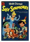 Golden Age (1938-1955):Cartoon Character, Dell Giant Comics: Silly Symphonies #5 File Copy (Dell, 1955)Condition: VF+....