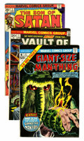 Bronze Age (1970-1979):Horror, Marvel Bronze Age Horror Comics Group (Marvel, 1972-75) Condition:Average FN.... (Total: 18 Comic Books)