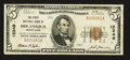 National Bank Notes:Pennsylvania, Mocanaqua, PA - $5 1929 Ty. 1 The First NB Ch. # 12349. ...