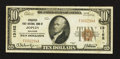 National Bank Notes:Missouri, Joplin, MO - $10 1929 Ty. 1 Conqueror First NB Ch. # 13162. ...