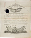 Autographs:U.S. Presidents, Rutherford B. Hayes Military Appointment Signed...
