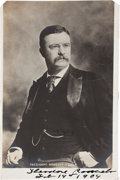 Autographs:U.S. Presidents, Theodore Roosevelt Photograph Signed...