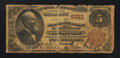 National Bank Notes:Kentucky, Louisville, KY - $5 1882 Brown Back Fr. 477 The NB of Kentucky Ch.# 5312. ...