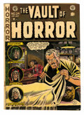 Golden Age (1938-1955):Horror, Vault of Horror #24 (EC, 1952) Condition: VG+....