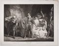 Antiques:Posters & Prints, Engraved Print from Boydell's Shakespeare Entitled,Winter's Tales. Cheapside: J. & J. Boydell, 1793. Ge...